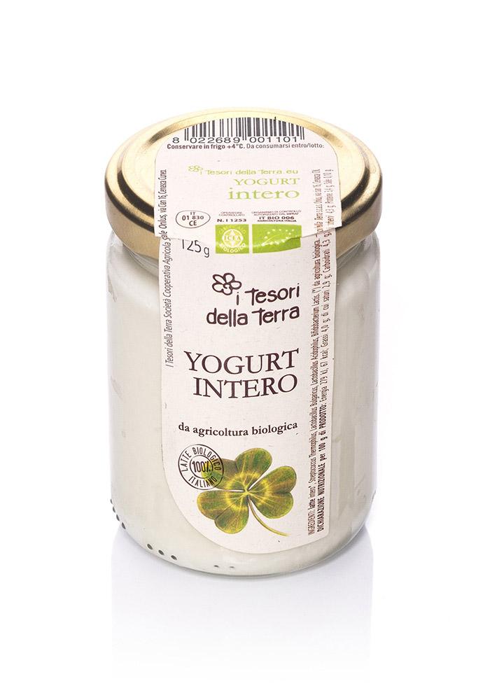 I Tesori della Terra Yogurt intero 125g