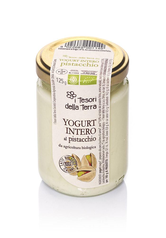 I Tesori della Terra Yogurt intero pistacchio 125g copia