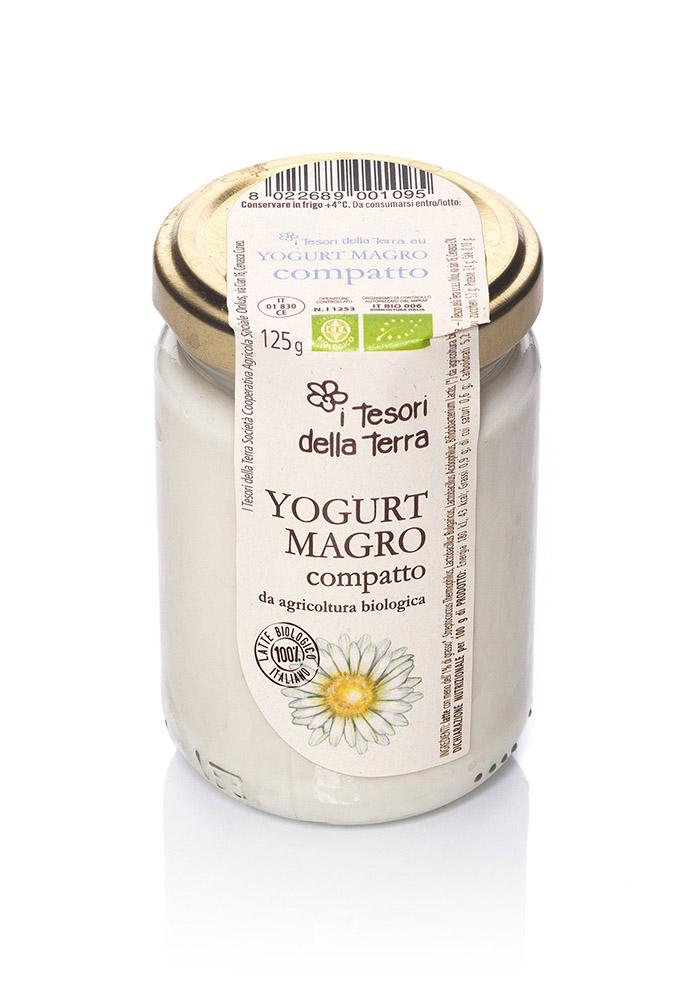 I Tesori della Terra Yogurt magro compatto 125g copia