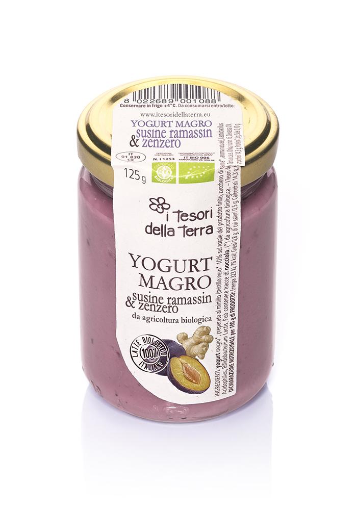 I-Tesori-della-Terra-Yogurt-magro-susine ramassin e zenzero-125g